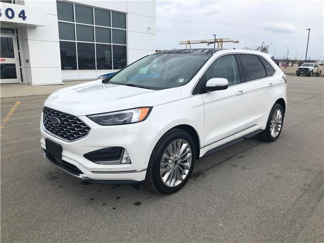 2021 Ford Edge Titanium (Stk: 21-37) in Kapuskasing - Image 1 of 8