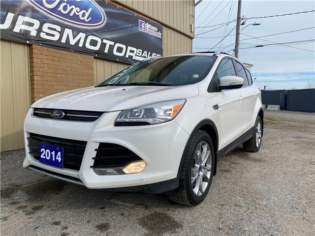 2014 Ford Escape Titanium (Stk: U-4707) in Kapuskasing - Image 1 of 17