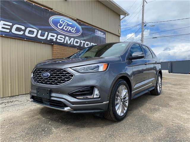 2021 Ford Edge Titanium (Stk: 21-60) in Kapuskasing - Image 1 of 21