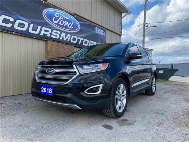 2018 Ford Edge Titanium (Stk: U-4811) in Kapuskasing - Image 1 of 21