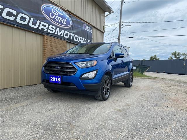 2018 Ford EcoSport SES (Stk: U-4847) in Kapuskasing - Image 1 of 19