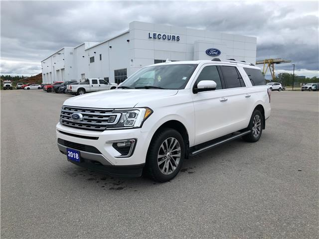 2018 Ford Expedition Max Limited (Stk: U-4937) in Kapuskasing - Image 1 of 15
