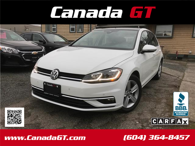 2018 Volkswagen Golf 1.8 TSI Highline (Stk: 275300) in Abbotsford - Image 1 of 29