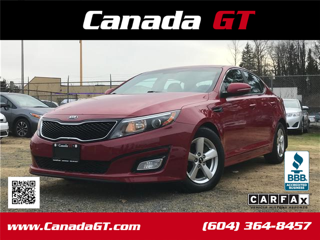 2014 Kia Optima LX (Stk: 5486307) in Abbotsford - Image 1 of 24