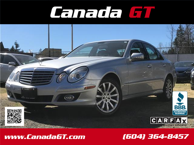2007 Mercedes-Benz E-Class Base (Stk: 218661) in Abbotsford - Image 1 of 22
