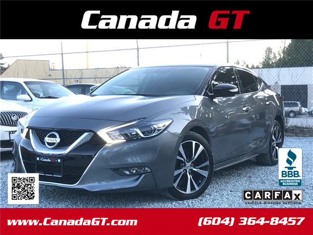 2016 Nissan Maxima SV (Stk: 414213) in Abbotsford - Image 1 of 24