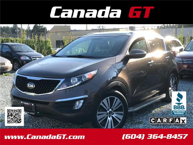 2014 Kia Sportage EX Luxury (Stk: 610745) in Abbotsford - Image 1 of 24