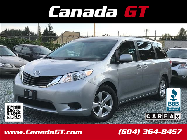 2013 Toyota Sienna LE 8 Passenger (Stk: 349604) in Abbotsford - Image 1 of 24