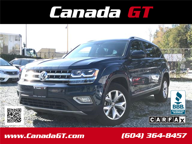 2018 Volkswagen Atlas 3.6 FSI Highline (Stk: 573070) in Abbotsford - Image 1 of 24