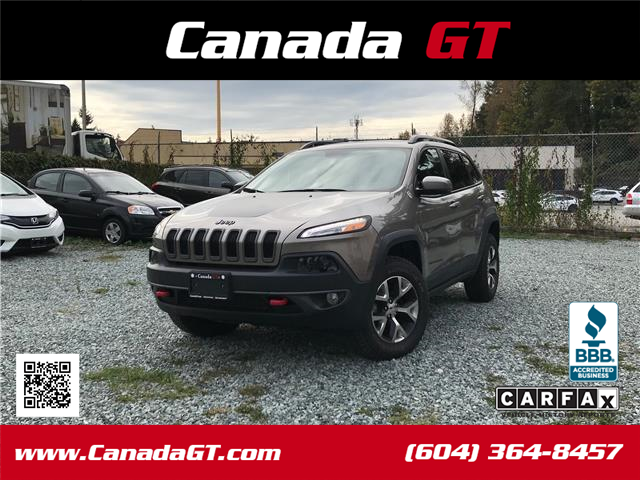2017 Jeep Cherokee Trailhawk (Stk: 598080) in Abbotsford - Image 1 of 24