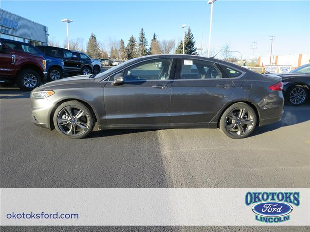 2018 Ford Fusion V6 Sport (Stk: J-02) in Okotoks - Image 2 of 5