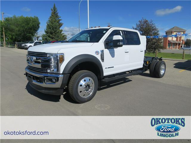 2018 Ford F-550 Chassis Lariat (Stk: JK-338) in Okotoks - Image 1 of 5