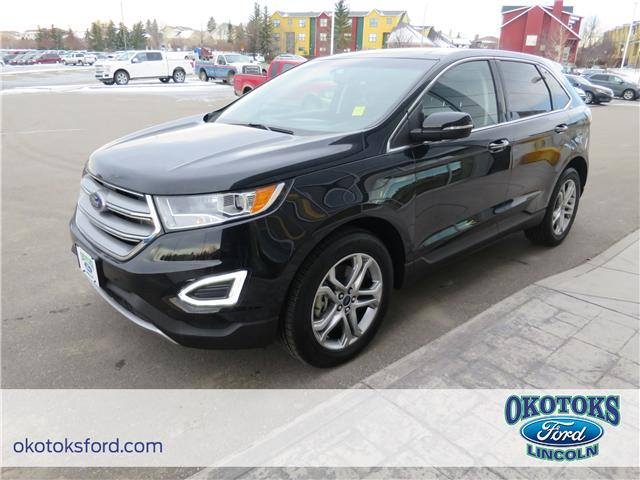 2017 Ford Edge Titanium (Stk: B83361) in Okotoks - Image 1 of 22