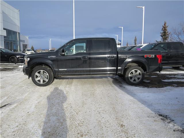 2018 Ford F-150 Lariat (Stk: J-2630) in Okotoks - Image 2 of 5