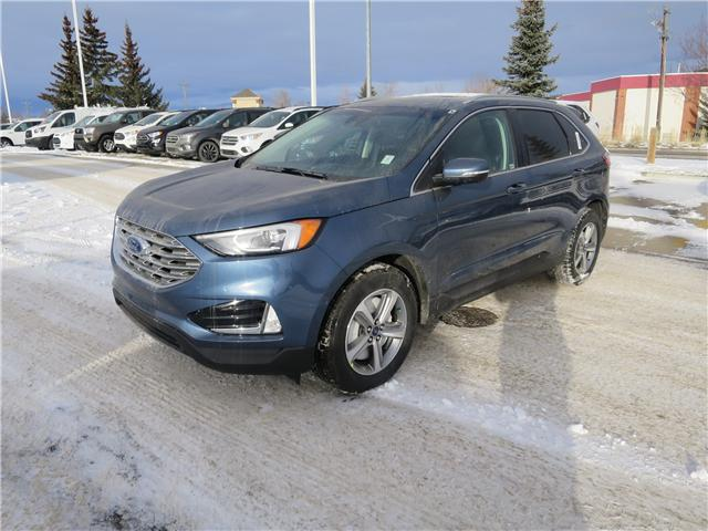 2019 Ford Edge SEL (Stk: K-602) in Okotoks - Image 1 of 5