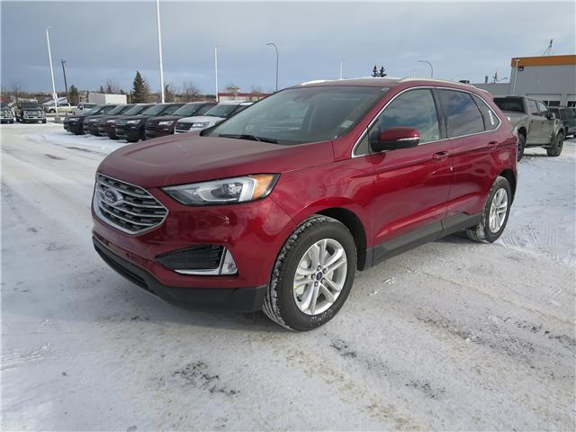 2019 Ford Edge SEL (Stk: K-603) in Okotoks - Image 1 of 5