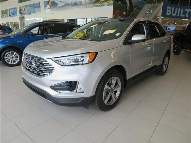 2019 Ford Edge SEL (Stk: K-604) in Okotoks - Image 1 of 6
