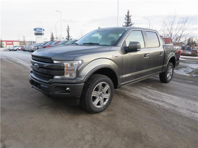 2018 Ford F-150 Lariat (Stk: J-2631) in Okotoks - Image 1 of 6