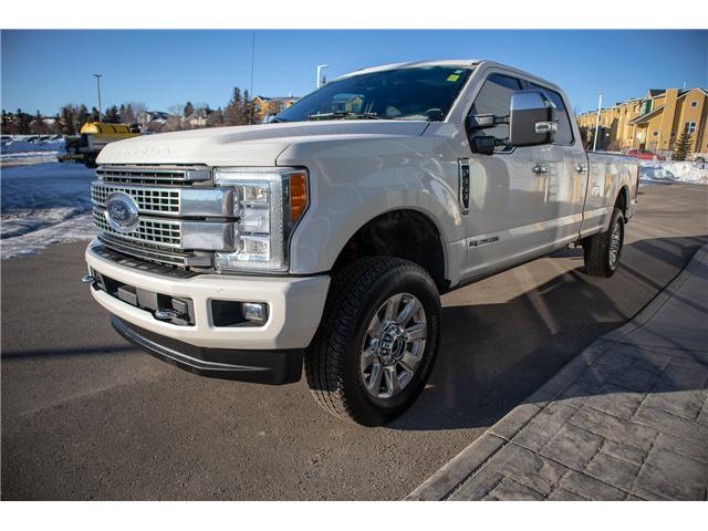 2017 Ford F-350 Platinum (Stk: KK-94A) in Okotoks - Image 1 of 20