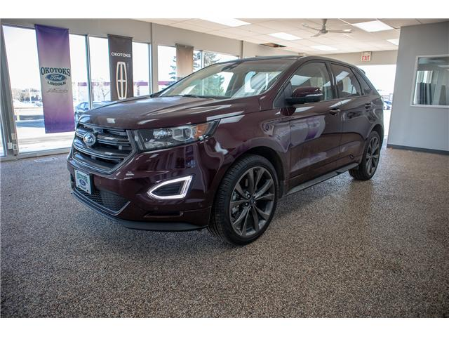 2018 Ford Edge Sport (Stk: B81385) in Okotoks - Image 1 of 22