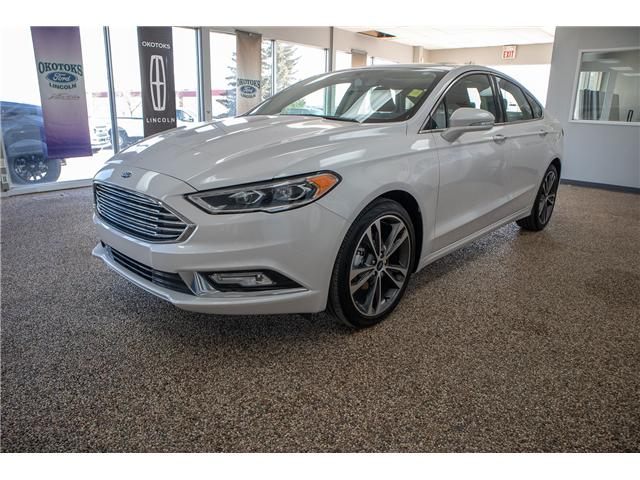 2018 Ford Fusion Titanium (Stk: B81423) in Okotoks - Image 1 of 22