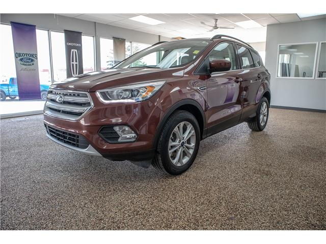 2018 Ford Escape SEL Moonroof, Navigation and leather, Accident Free