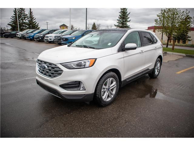 2019 Ford Edge SEL (Stk: KK-91) in Okotoks - Image 1 of 6