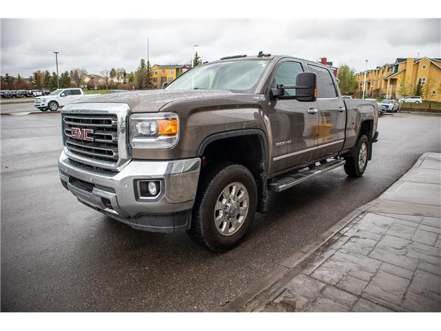 2015 GMC Sierra 3500HD SLT (Stk: KK-1027A) in Okotoks - Image 1 of 19