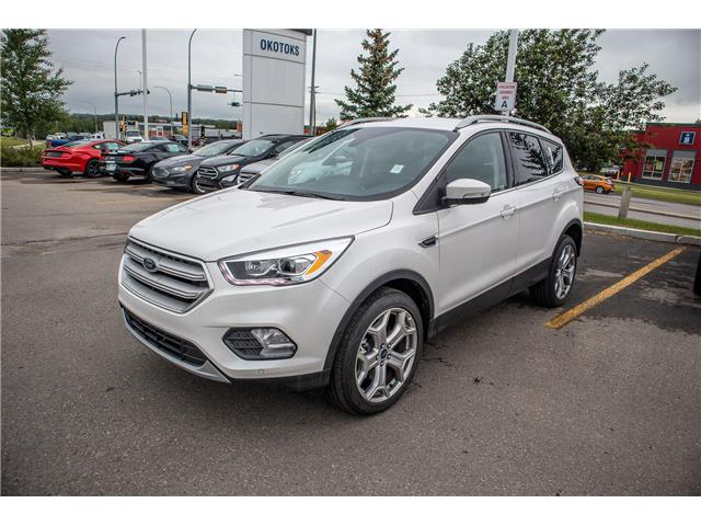 2019 Ford Escape Titanium (Stk: K-1231) in Okotoks - Image 1 of 5