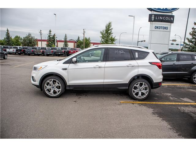 2019 Ford Escape Titanium (Stk: K-1231) in Okotoks - Image 2 of 5