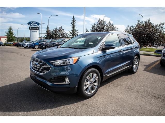 2019 Ford Edge Titanium (Stk: KK-204) in Okotoks - Image 1 of 5