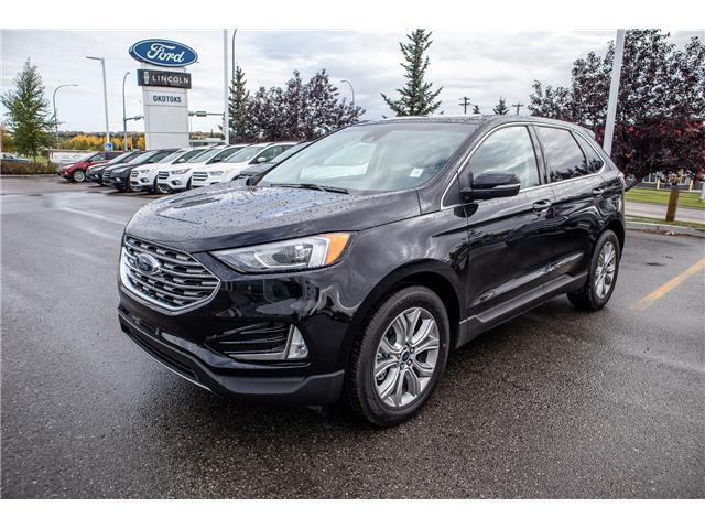 2019 Ford Edge Titanium (Stk: K-2339) in Okotoks - Image 1 of 6