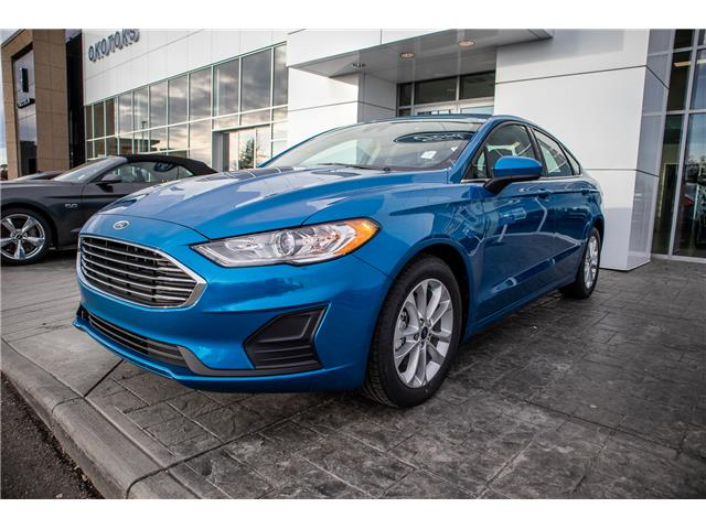 2019 Ford Fusion SE (Stk: K-293) in Okotoks - Image 1 of 5