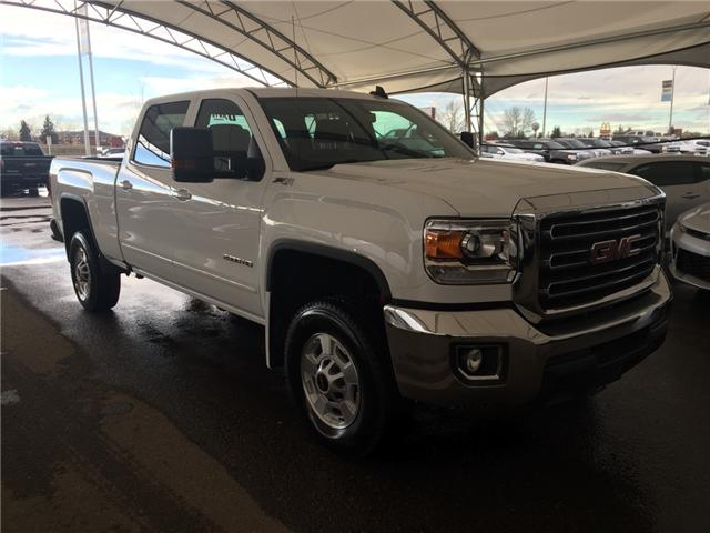2018 GMC Sierra 2500HD SLE (Stk: 164320) in AIRDRIE - Image 1 of 18