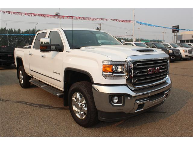 2018 GMC Sierra 2500HD SLT (Stk: 165399) in Medicine Hat - Image 1 of 26