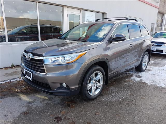 2016 Toyota Highlander Limited (Stk: U01066) in Guelph - Image 1 of 30