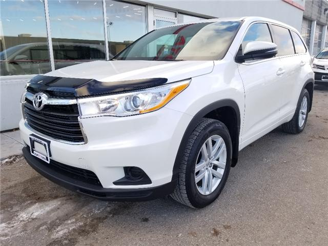 2014 Toyota Highlander LE (Stk: u01094) in Guelph - Image 1 of 30