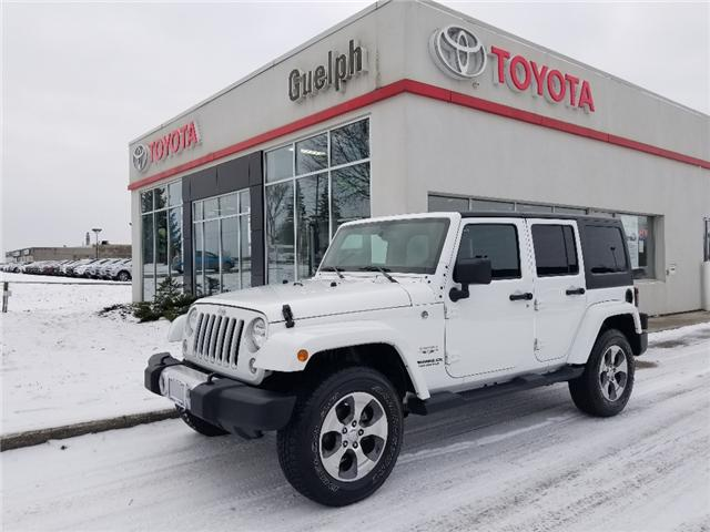 2017 Jeep Wrangler Unlimited Sahara (Stk: U01113) in Guelph - Image 1 of 24