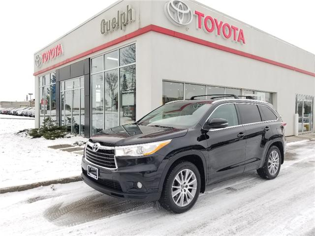 2016 Toyota Highlander XLE (Stk: U01112) in Guelph - Image 1 of 29