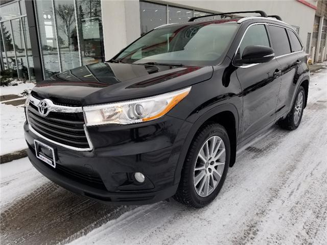 2016 Toyota Highlander XLE (Stk: U01112) in Guelph - Image 2 of 29