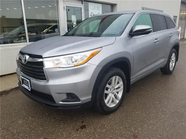 2015 Toyota Highlander LE (Stk: A01661) in Guelph - Image 1 of 28