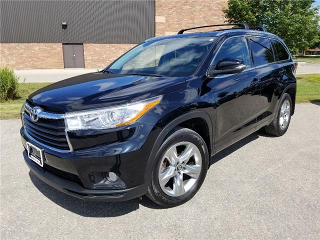 2016 Toyota Highlander Limited (Stk: U01436) in Guelph - Image 1 of 30