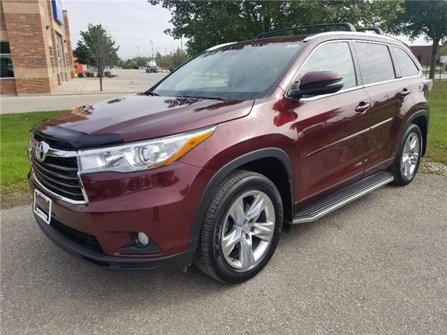 2015 Toyota Highlander Limited (Stk: A02079) in Guelph - Image 1 of 30
