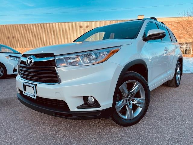 2016 Toyota Highlander Limited (Stk: U01617) in Guelph - Image 1 of 27