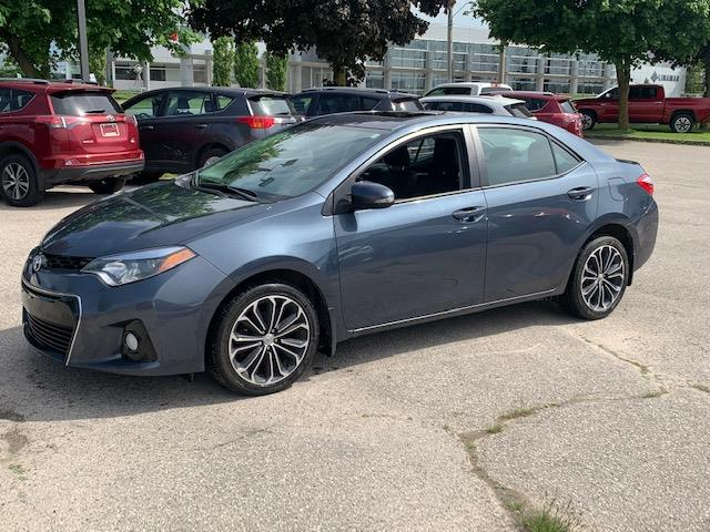 2016 Toyota Corolla S (Stk: U01728) in Guelph - Image 1 of 9