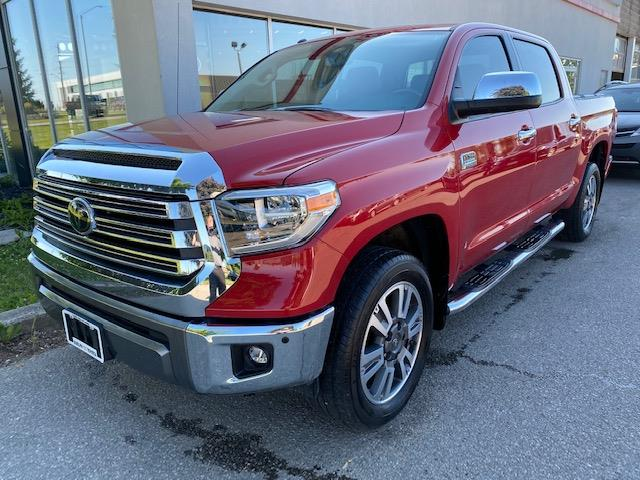 2018 Toyota Tundra Platinum 5.7L V8 (Stk: U01594) in Guelph - Image 1 of 30