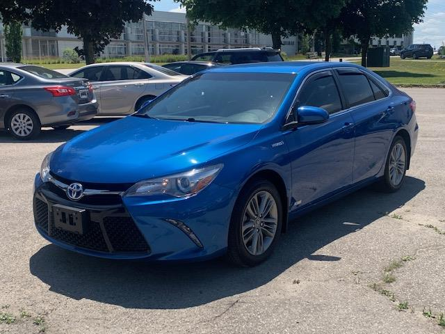 2017 Toyota Camry Hybrid SE (Stk: A02373) in Guelph - Image 1 of 24