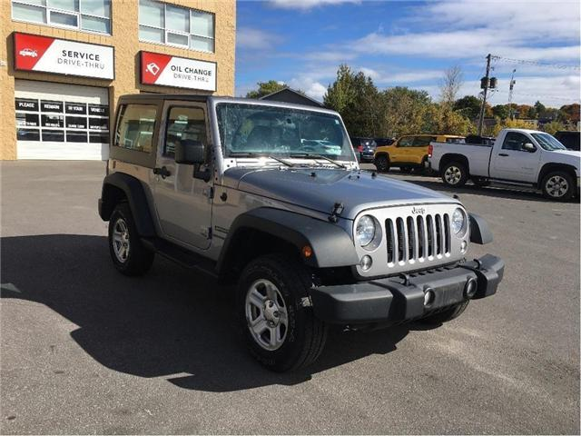 2014 Jeep Wrangler Sport (Stk: 18T077A) in Kingston - Image 1 of 14