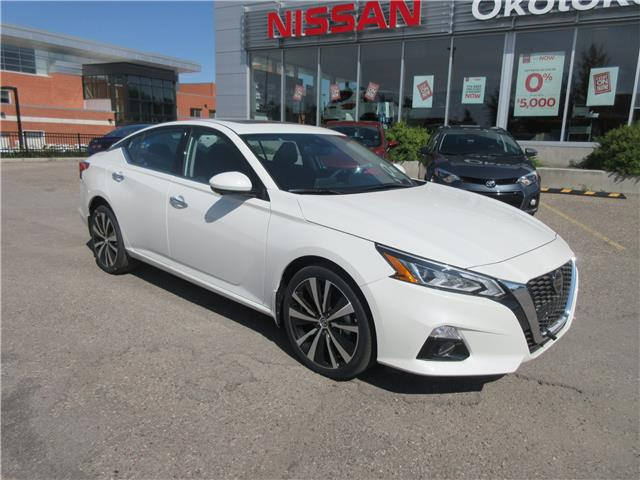 2019 Nissan Altima 2.5 Platinum (Stk: 9035) in Okotoks - Image 1 of 23