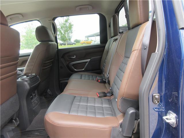 2017 Nissan Titan Platinum Reserve (Stk: 66) in Okotoks - Image 20 of 33